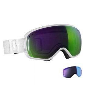 SCOTT Goggle LCG White/Solar Green Chrome