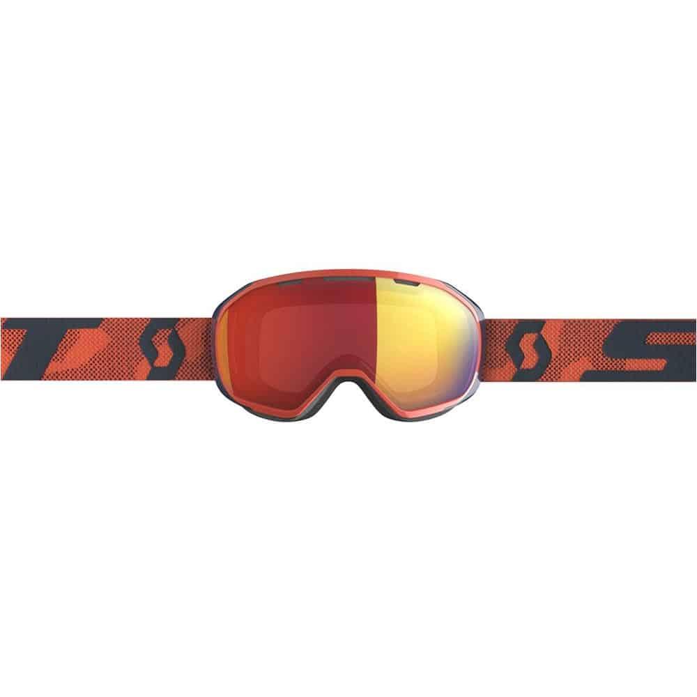 Scott Goggle Fix Orange/Enhancer Red Chrome