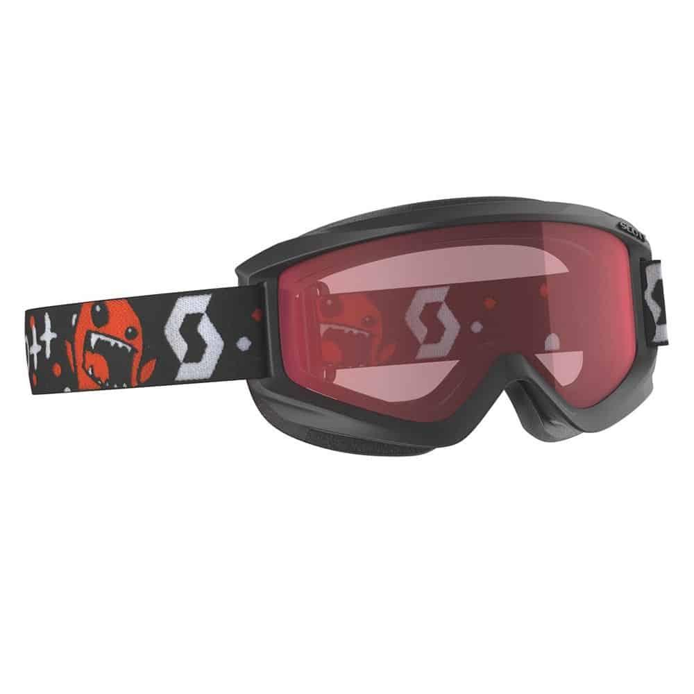 Scott Goggle Junior Agent Black-Red/Enhancer