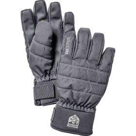 Hestra CZone Primaloft Junior Black - 5 finger