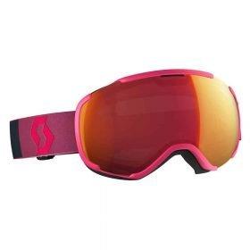 Scott Goggle Faze II Pink/Illuminator Red Chrome