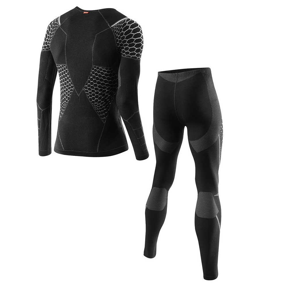 Loffler Men Set Long Transtex® Warm Hybrid Black