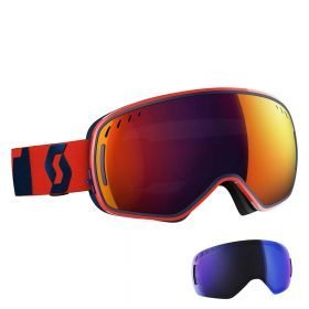 Scott Goggle LCG ACS Fluo Red-Eclipse Blue/Solar Red Chrome
