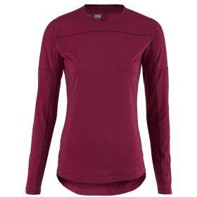 Scott Shirt Women Base Dri Crew Sangria Purple