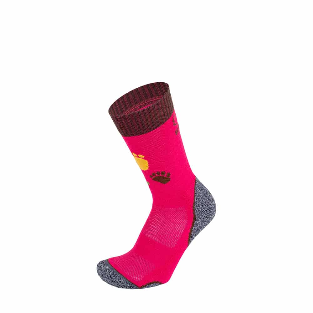 BRBL Socks Berwyn Junior Fuchsia/Brown
