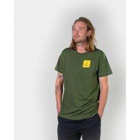 Bataleon T-shirt Logo Box Green