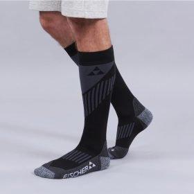 Fischer Ski Socks Alpine Comfort Black/Grey