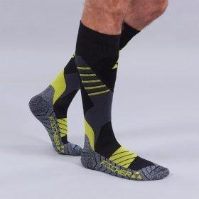 Fischer Ski Socks Alpine Vacuum Comfort Fit Black/Yellow