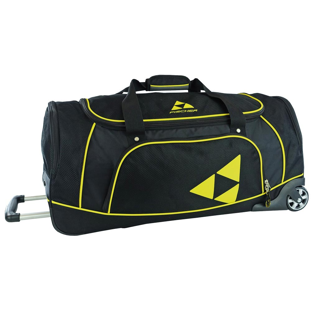 Fischer Team Sportduffel 100L Black/Yellow