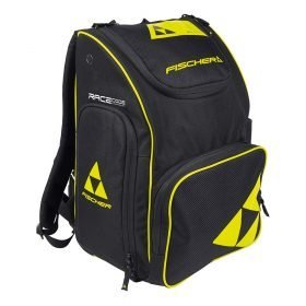 Fischer Backpack Race Junior 40L 2021 Black/Neon Yellow