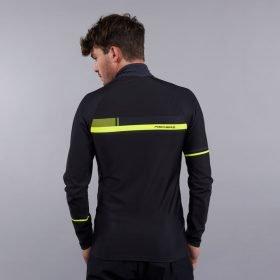 Fischer Skishirt Turtleneck-Cross Black