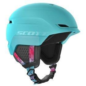 Scott Helmet Chase 2 Cyan Blue/Pink