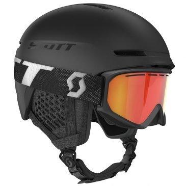 Scott Combo Helmet Track + Goggle Fact Black