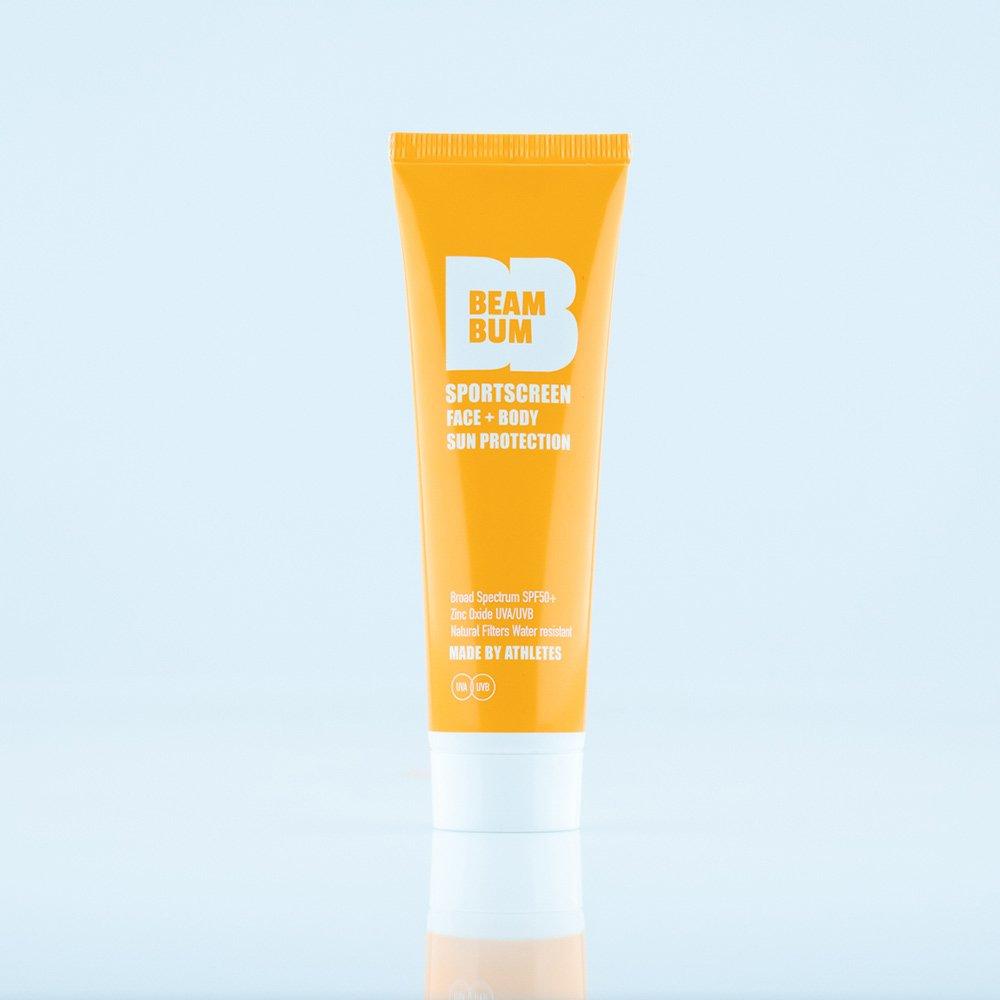 Beam Bum Sportscreen Face & Body SPF 50+ (powered by reezo) 50ml