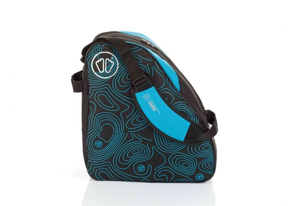 Sidas Boot Bag Black-Blue Side