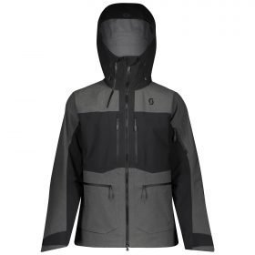 Scott Jacket Vertic GTX 3L Strech Black/Dark Grey Melange