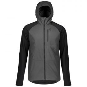 Scott Hoody Explorair Ascent Polar Dark Grey Melange/Black