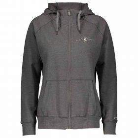Scott Zip Hoody Women 20 Casual Dye L/SL Dark Grey Melange/Black
