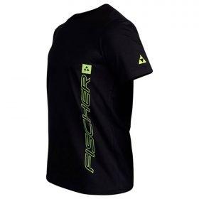 Fischer T-Shirt S/S Ischgl Black