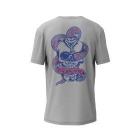 Lobster T-Shirt Snake Light Grey