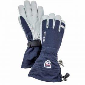 Hestra Army Leather Heli Ski Navy- 5 Finger