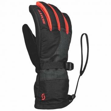 Scott Glove Junior Ultimate Premium GTX Black/Radiant Red