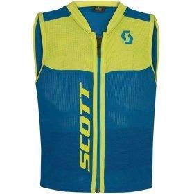 Scott Vest Protector Junior Actifit Plus Blue/Sulphur Yellow