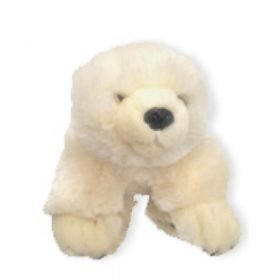 Eisbar Cuddly Baby Polar Bear - White