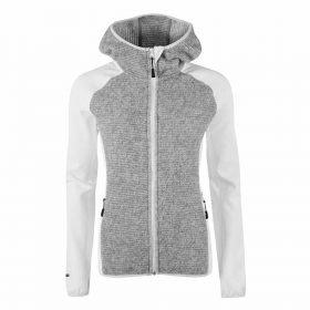 Halti Circuit Women's Mid Layer Jacket White/Grey
