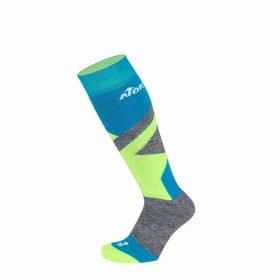 Nordica Multisports Winter 2PP Junior Blue/Neon Green/Mid Grey + Blue/Neon Green