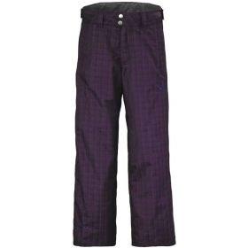 Scott Pant Junior Slope Dark Purple Plaid