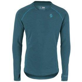 Scott Shirt Men Base Dri Crew Coral Blue
