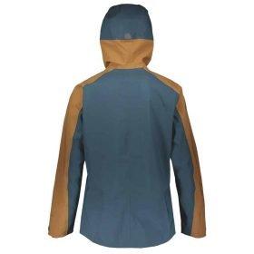 Scott Jacket Vertic GTX 3L Nightfall Blue/Tobacco Brown