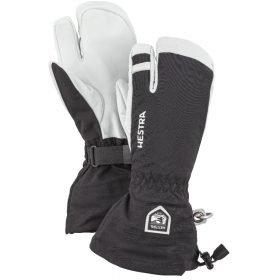 Hestra Army Leather Heli Ski Black - 3 Finger