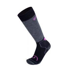 BRBL Socks Banff Anthra Melange/Black/Lilac