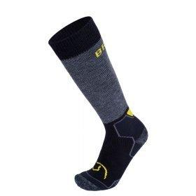 BRBL Socks Banff Anthra Melange/Black/Yellow