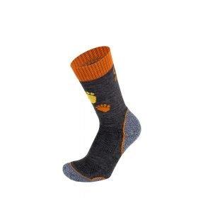 BRBL Socks Berwyn Junior Dark Grey/Orange