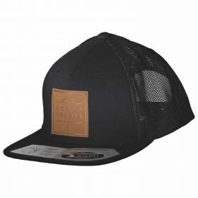 Scott Cap Leather Patch Black/Black